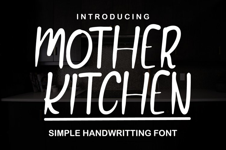 Mother Kitchen example image 1