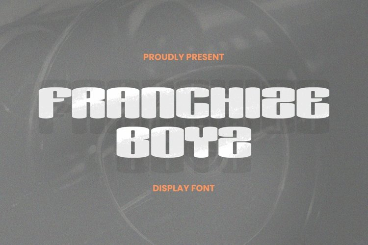 Web Font Franchize Boyz Font example image 1