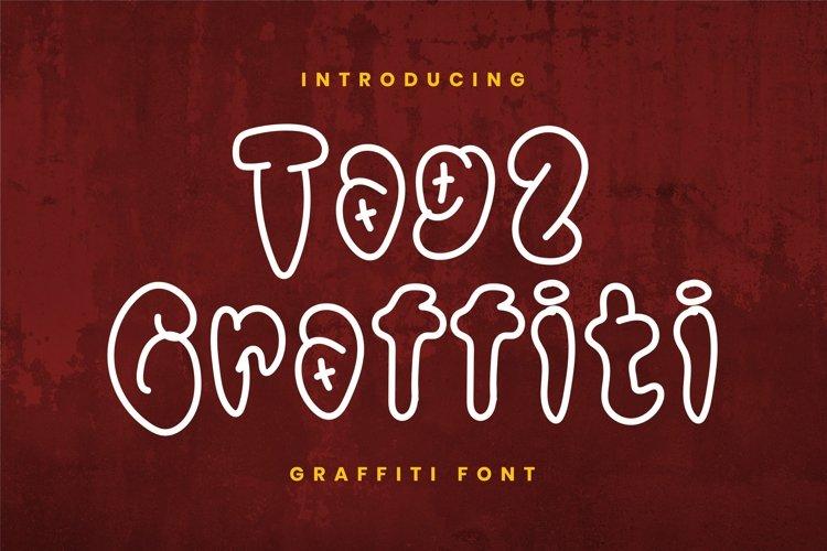 Web Font Tag2 Graffiti Font example image 1