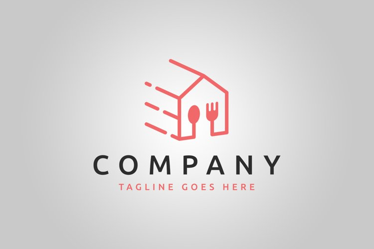 Food Delivery Logo Template example image 1