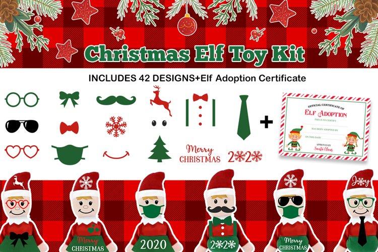 Christmas Elf toy kit Svg, Elf Svg, Christmas Elf Svg
