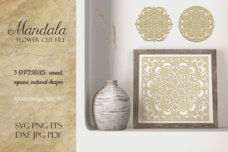 Mandala SVG | Flower Cut File example image 1