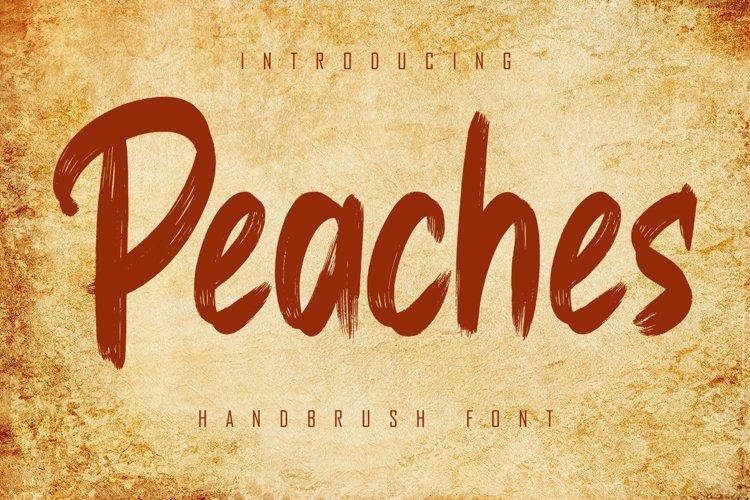 Peaches example image 1