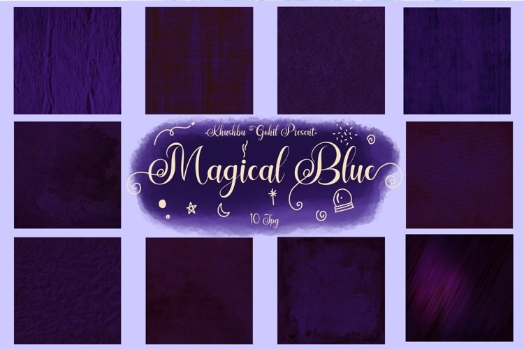 Magical Blue example image 1