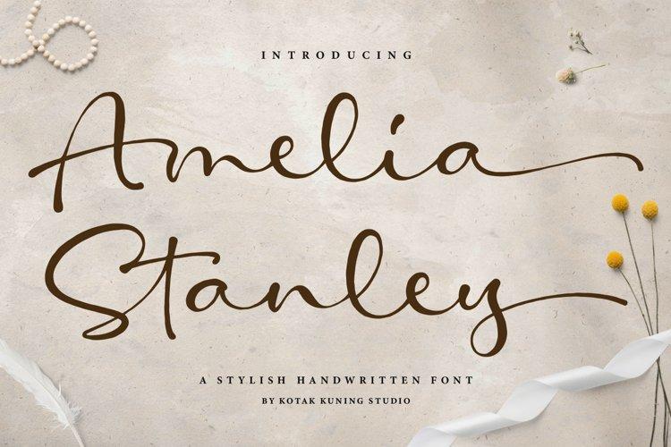 Amelia Stanley - Beautiful Script example image 1