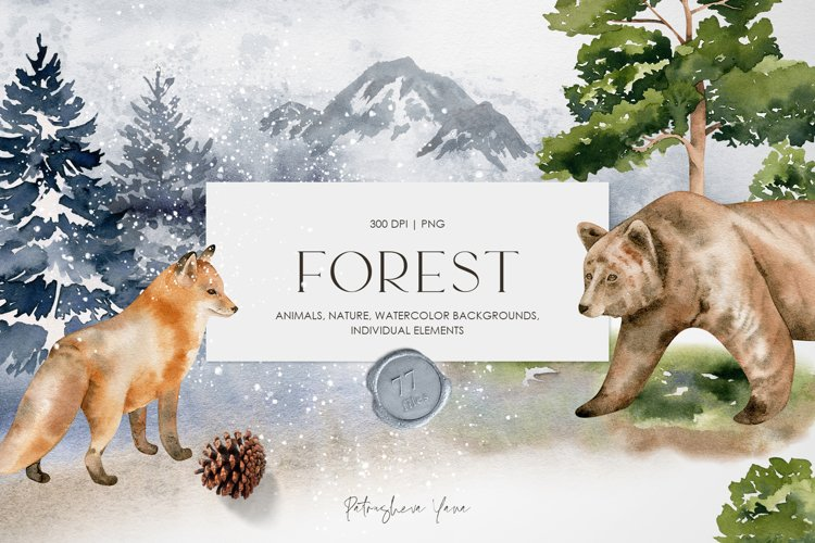 FOREST - Watercolor Collection