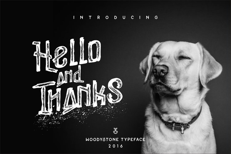 Woodystone Typeface