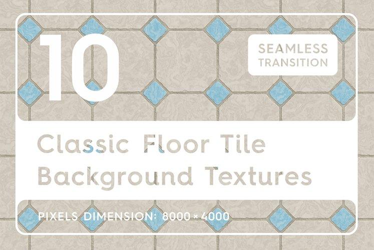 10 Classic Floor Tile Textures example image 1