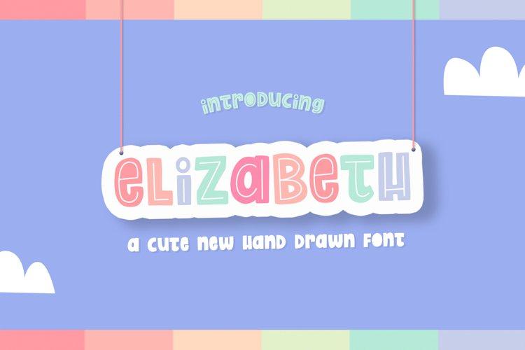 Elizabeth Font Duo example image 1