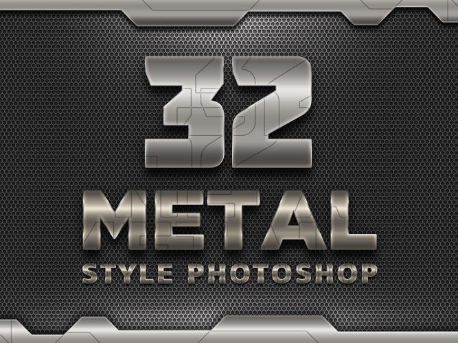 32 Iron Robot Solid Style example image 1