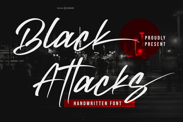 Black Attacks example image 1