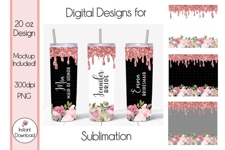 Skinny Tumbler Design, 20 oz Tumbler, PNG Sublimation