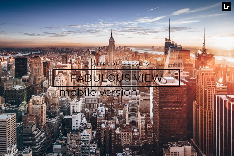 22 Fabulous View LR Presets example image 1