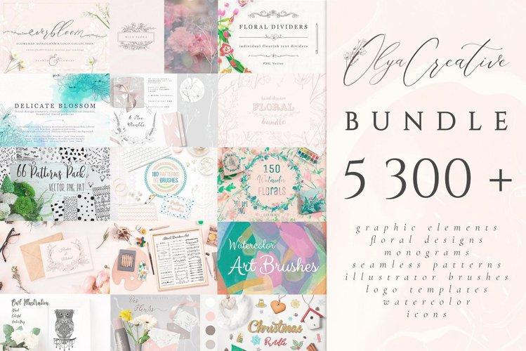 5300 in 1 Olya.Creative Bundle