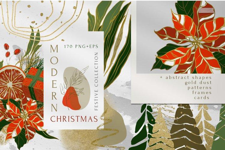 Modern Christmas Abstract Collection