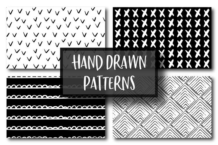 Hand Drawn Pattern Bundle example image 1