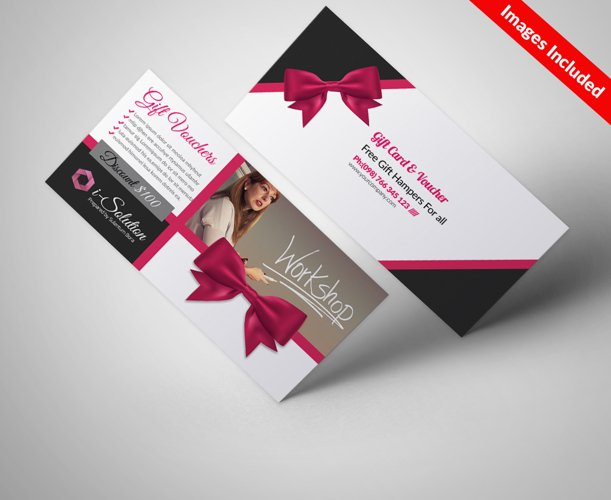 Multi Use Business Vouchers Templates example image 1