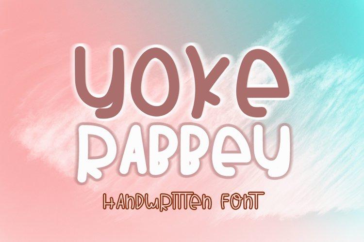 Yoke Rabbey example image 1