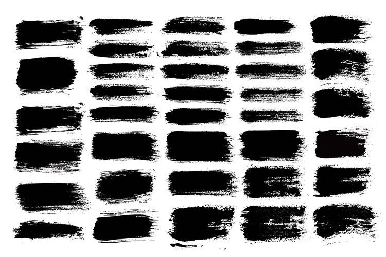 Brush Strokes SVG PNG Pack   Transparent Background   Vol.1