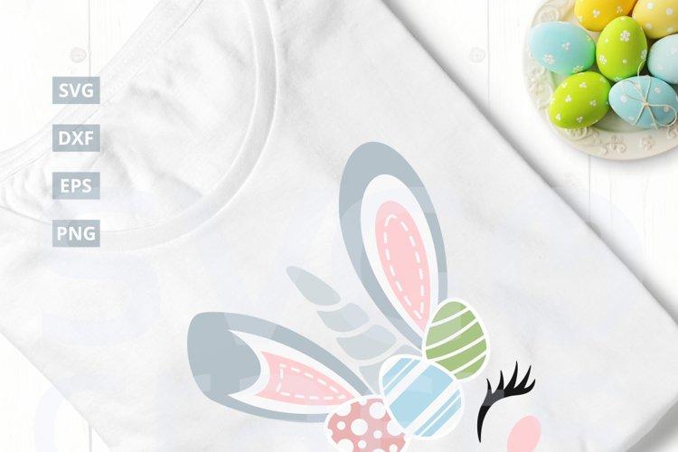 Easter Bunny Unicorn SVG Cut File, svg, dxf,eps, png