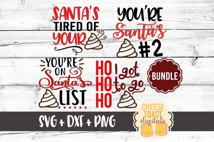 Christmas Toilet Paper Roll Design Bundle - Christmas SVGs example image 1