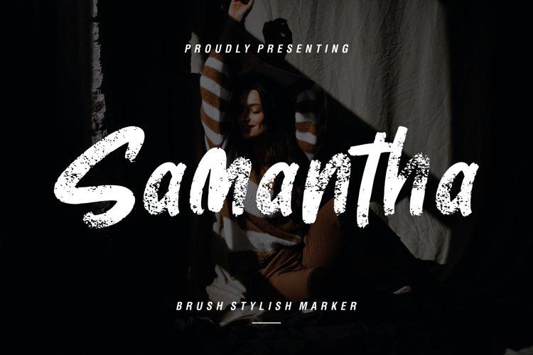 Samantha Brush Stylish Marker example image 1