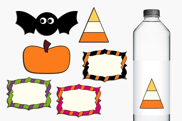 Halloween clip art graphics and illustrations example 1