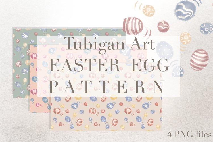Easter Egg / Dinosaur Egg Tiles Seamless Pattern example image 1