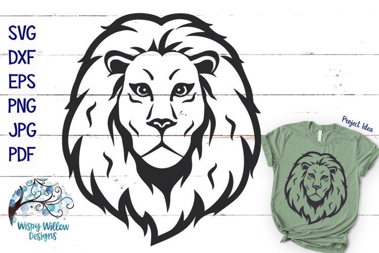 Lion SVG | Lion Face SVG Cut File