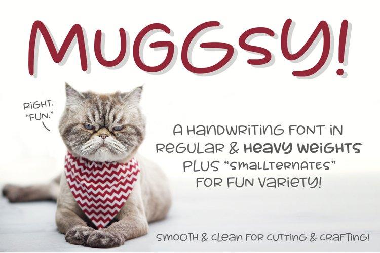 Muggsy - a short and stout fun font!