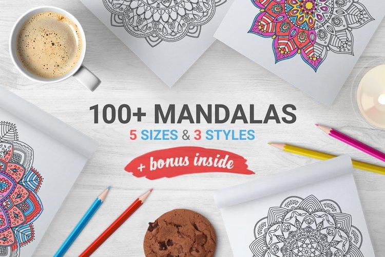 100 Mandalas & Bonus Frames