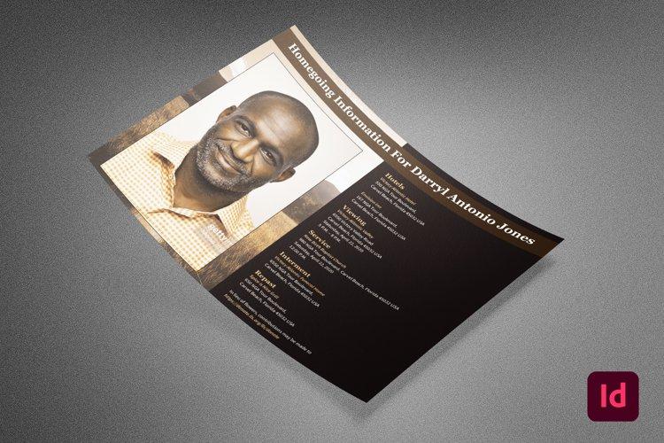 Homegoing Funeral Info Sheet