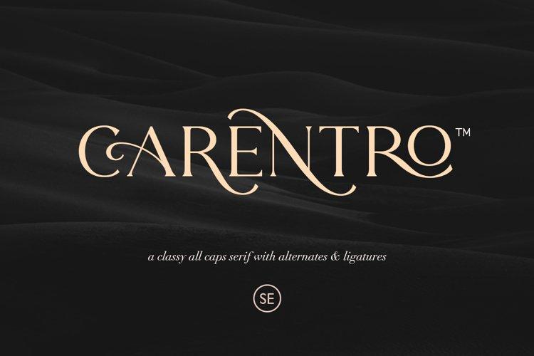 Carentro - Classy Serif example image 1