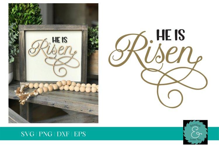 He is Risen SVG, Easter SVG, Glowforge SVG, Christian SVG
