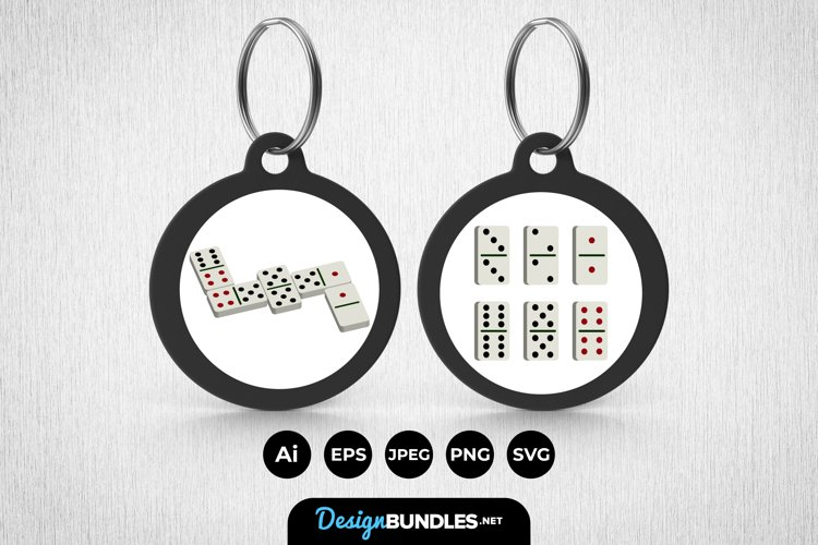 Dominos Keychain example image 1