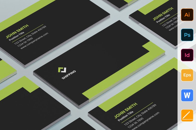 Shipping Business Card