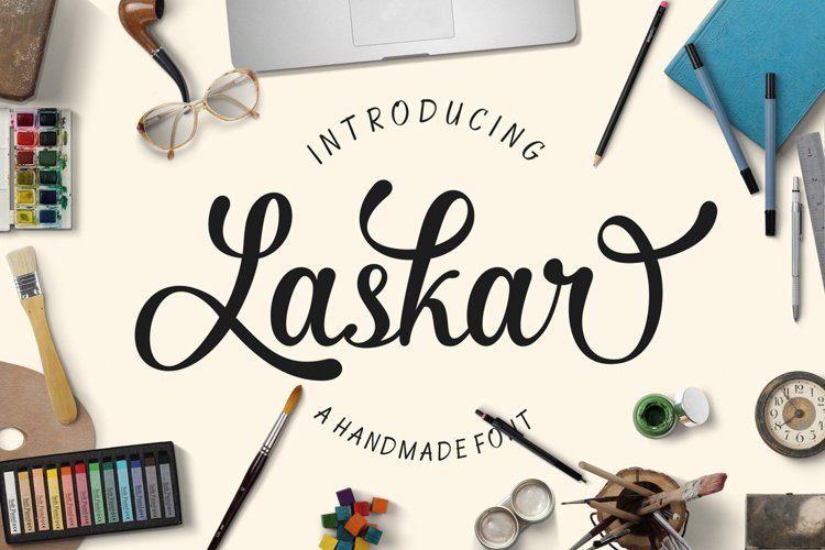 Laskar Script example image 1