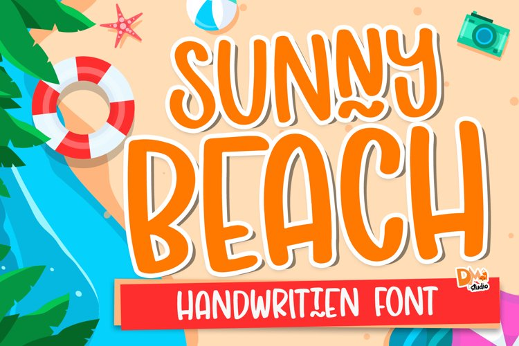 Sunny Beach - Crafty Handwritten Font example image 1