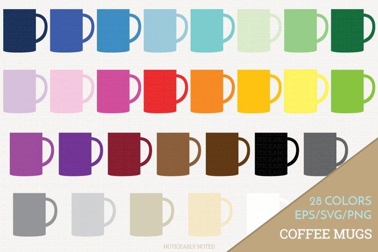 Coffee Mug Vector / Clip Art