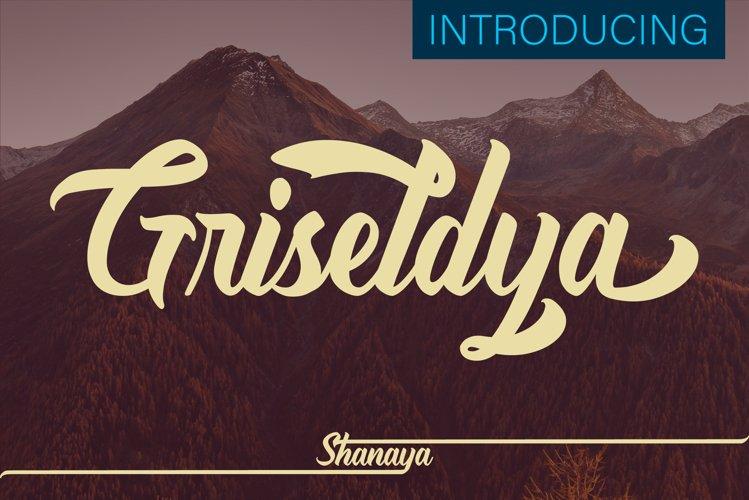 Griseldya Font example image 1