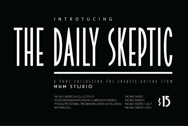 MHM THE DAILY SKEPTIC