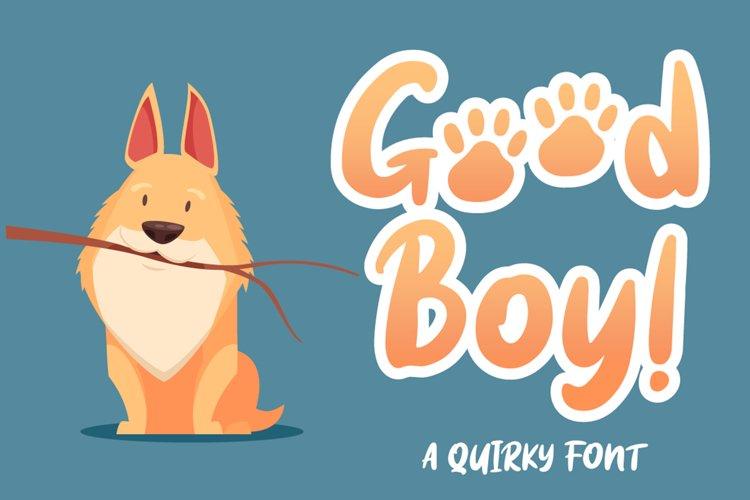 Good boy example image 1