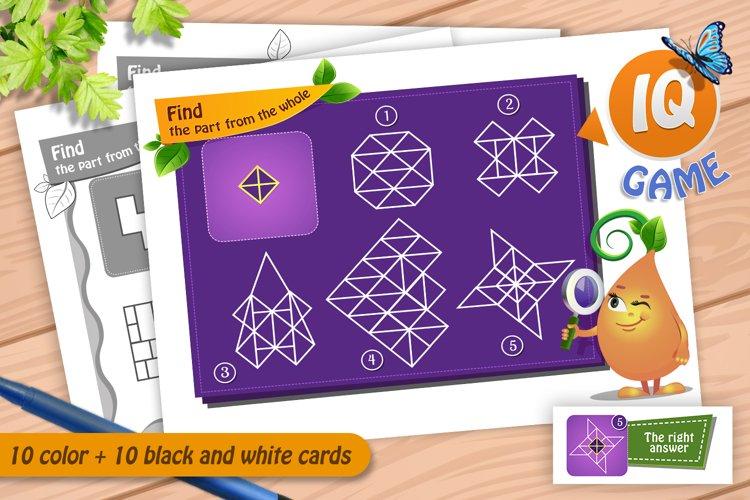 Download Educational Games Brainteaser Find Part Of The Whole 426869 Printables Design Bundles