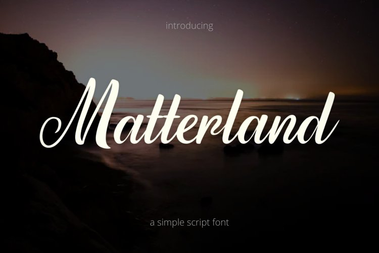 Matterland