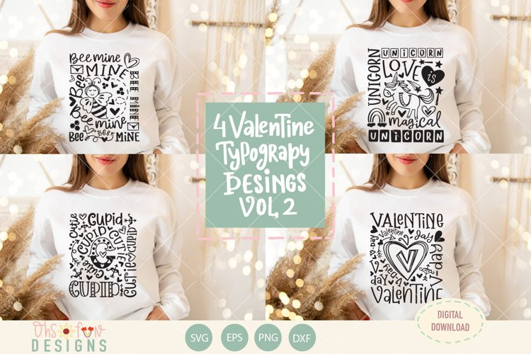 Valentine SVG, bee mine, cupid, unicorn SVG