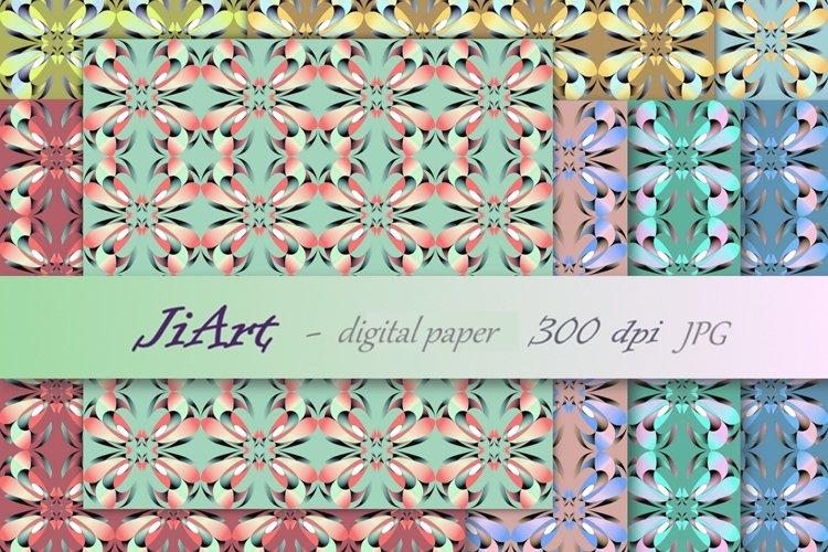 Floral Papers, Digital Floral, Flower Patter