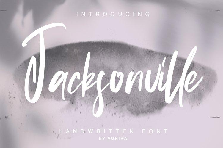 Jacksonville   Handwritten Font example image 1