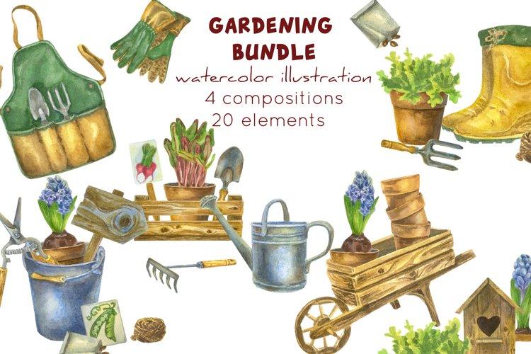 Gardening tools sublimation Garden cip art