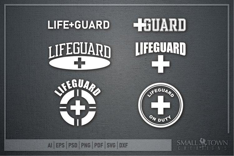 Lifeguard, Lifeguard on Duty, Summer, PRINT, CUT & DESIGN
