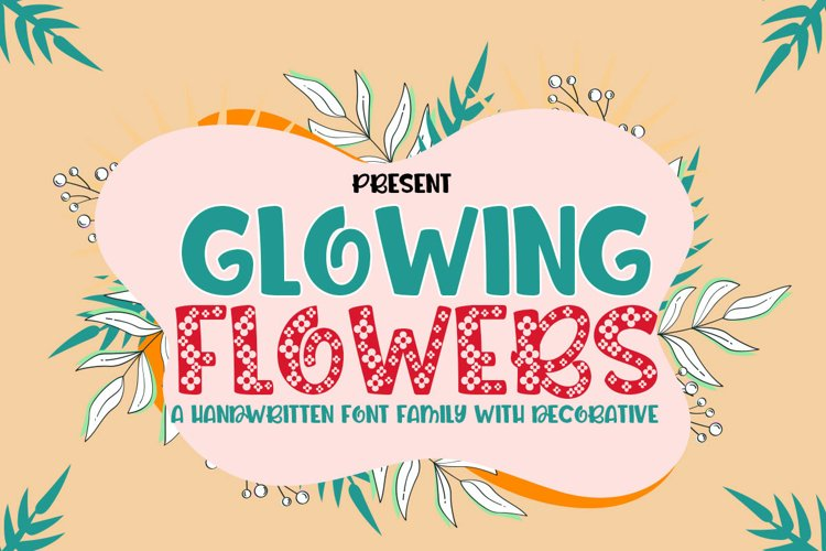 Glowing flowers example image 1